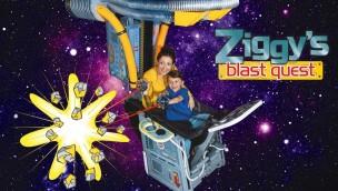 The Milky Way Adventure Park Ziggy's blast quest