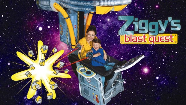 The Milky Way Adventure Park Ziggy's blast quest