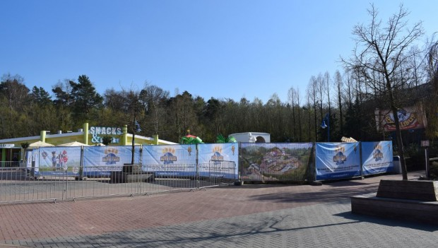 Movie Park Germany Adventure Bay Baustelle Saisonstart 2019