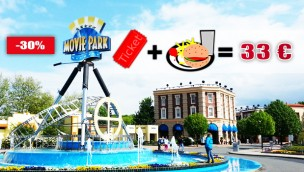 Movie Park Germany Angebot 2019 inkl. Hamburger