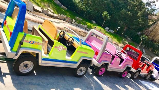 Movie Park Paw Patrol Wagen
