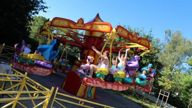 Parc du Bocasse Fahrgeschäft Aladin