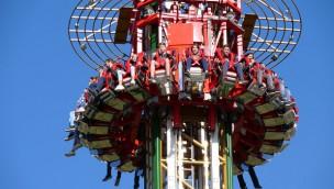 Parc Spirou Freifallturm