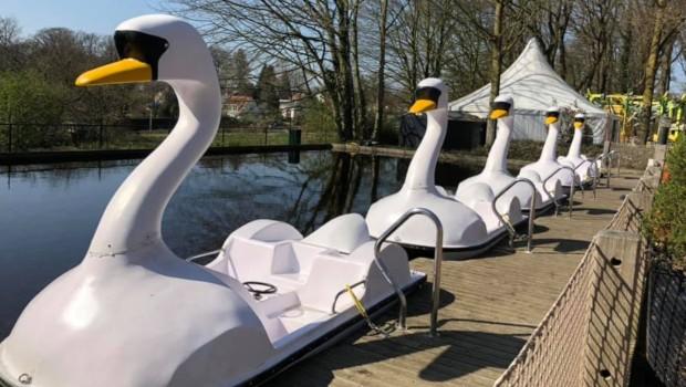 Park Tivoli Zwanenbootjes