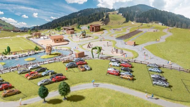 Modell Freizeitpark Wildschönau Tirol Österreich
