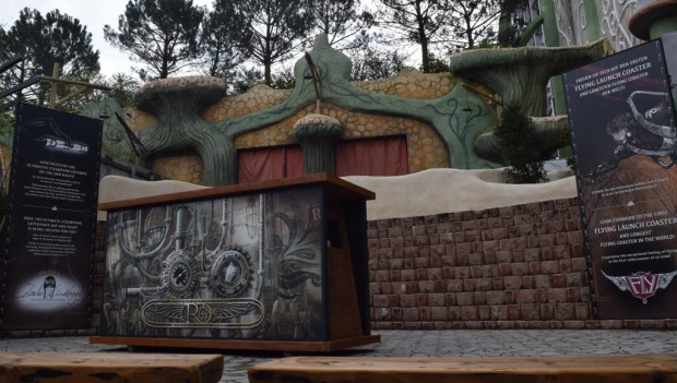 Phantasialand Rookburgh neue Preview-Box 2019