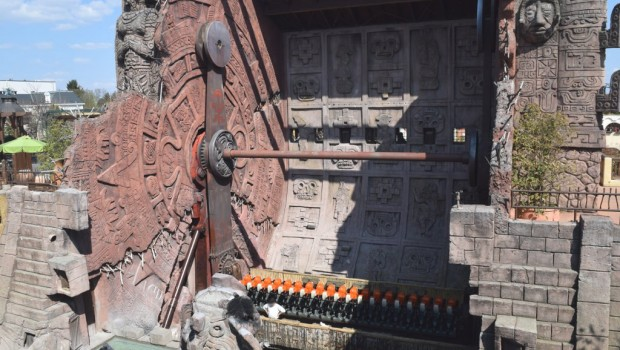 Phantasialand Talocan außer Betrieb 2019