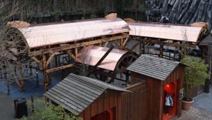 Phantasialand Taron neue Überdachung 2019