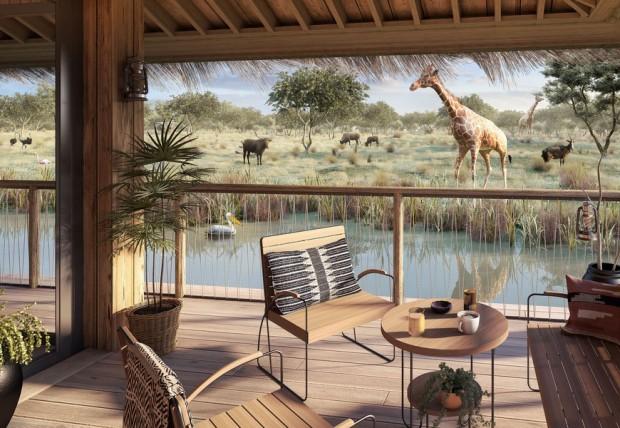 Planet Safari Lodge Planète Sauvage Safaripark