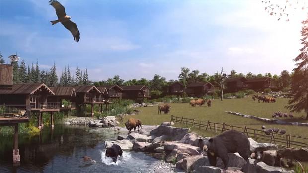Tierpark Sainte-Croix Parc Animalier de Sainte Croix