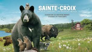 """Tierpark Sainte-Croix eröffnet 2019 neu großen Nordamerika-Bereich """"Neue Welt"""""""