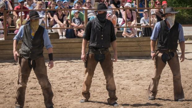Erlebnispark Schloss Thurn Cowboys Stuntshow