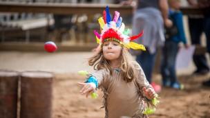 Cowboytag am 5. Mai 2019 im Erlebnispark Schloss Thurn mit 50 % Rabatt für Kinder