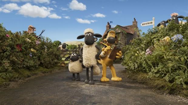 Shaun das Schaf Gruppenbild Aardman Animations