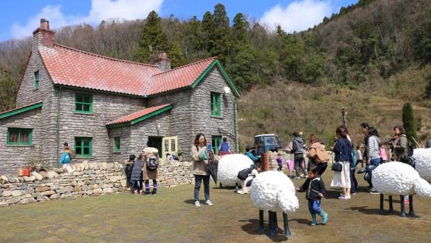 Shaun the Sheep Farm Garden Haus Rosa & Berry Tawada