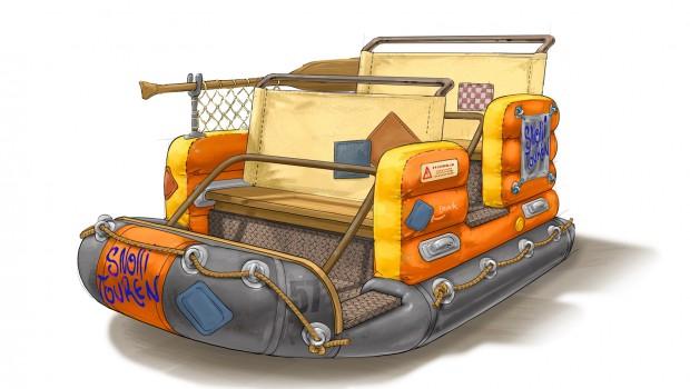 Snorri Touren EUropa-Park Themenfahrt 2019 Boot Konzept