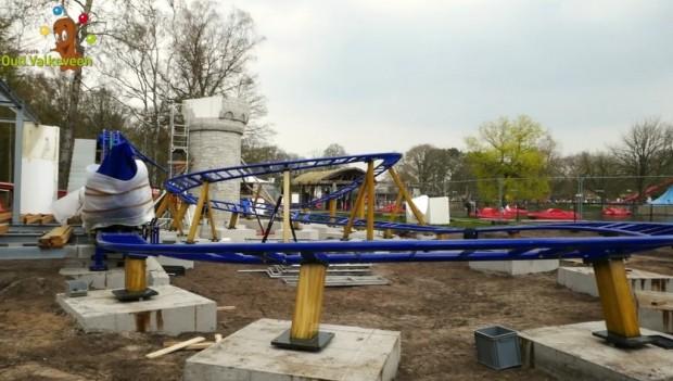 Speelpark Oud Valkeveen Drakenbaan neu 2019 Schienenschluss