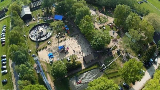 Sybrandy's Speelpark Vogelperspektive