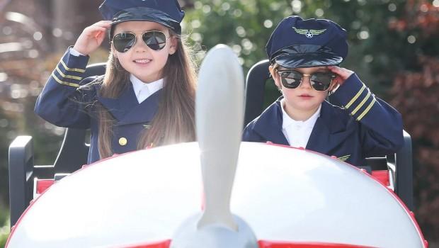 Tayto Park Flight School Achterbahn Zug