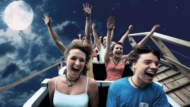 Erlebnispark Tripsdrill Schaurige Altweibernächte Achterbahn