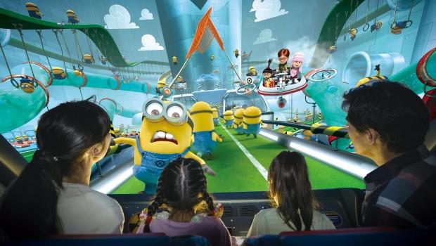 Universal Studios Singapur Despicable Me Minion Mayhem Minions