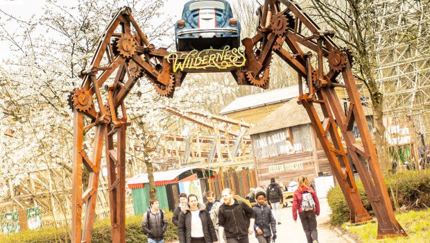 Walibi Hplland Wilderness Eingang