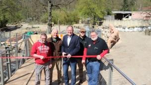Zoo Osnabrück: Vielfraß- und Rentierzuwachs sowie Teileröffnung von Höhenpfad