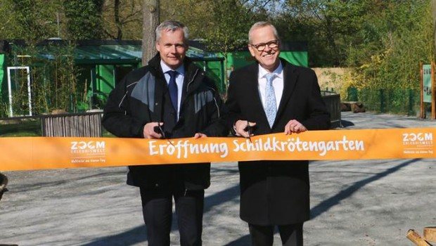 ZOOM Erlebniswelt Schildkrötengarten-Eröffnung 2019