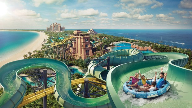 Aquaventure Waterpark Dubai Atlantis The Palm