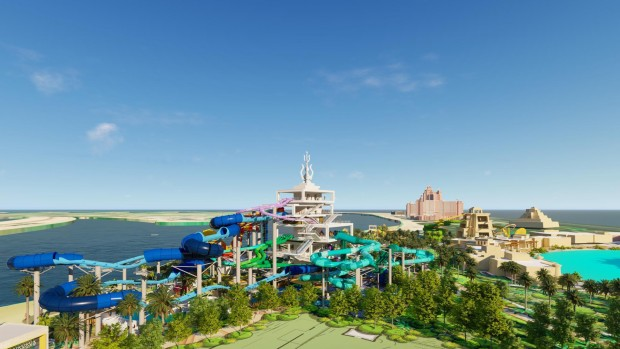 Aquaventure Waterpark Dubai Entwurf Expansion