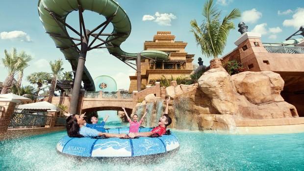 Aquaventure Waterpark Dubai Wasserrutsche