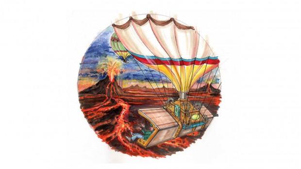 Balloon Fly 360 Konzeptzeichnung