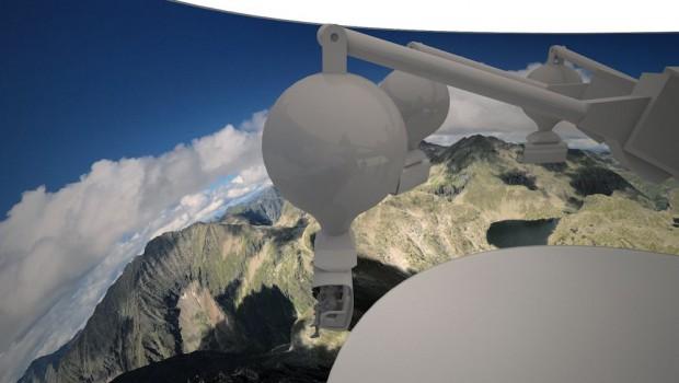 Ballon Fly 360 Entwurf Modell