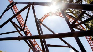 Bobbejaanland Fury neu 2019 Aufbau