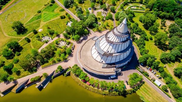 Elbauenpark Jahrtausendturm