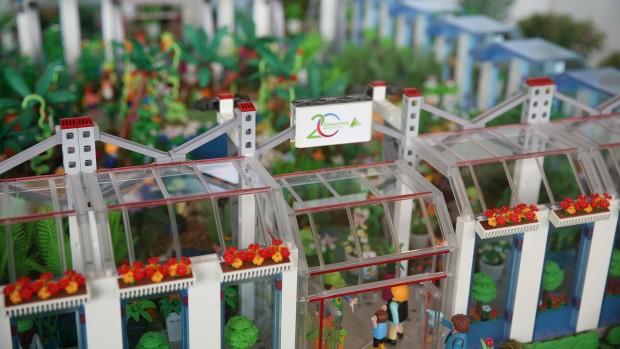 Elbauenpark Playmobil Schmetterlingshaus