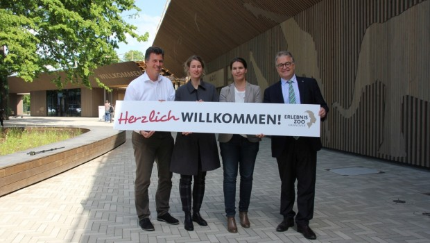 Erlebnis-Zoo Hannover neuer Eingang Eröffnung