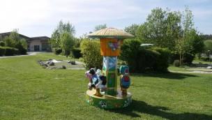 Erlebnispark Voglsam erweitert Attraktions-Angebot für Kinder 2019 mit neuem Mini-Karussell