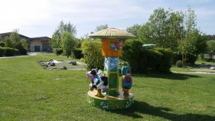 Erlebnispark Voglsam Mini-Karussell neu 2019