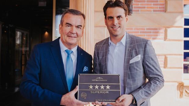 Europa-Park Kronasar Auszeichnung 4-Sterne Superior