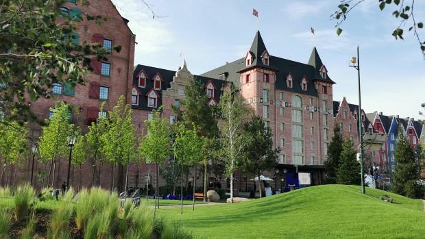 Europa Park Hotel Kronasar von außen