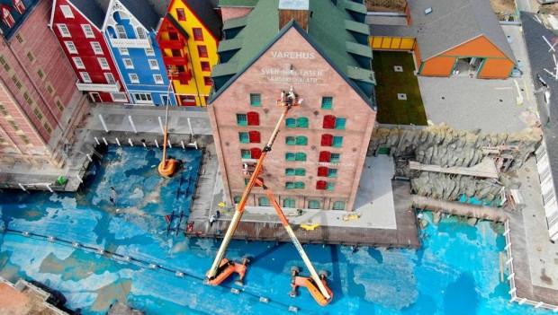 Europa-Park Hotel Kronasar kurz vor Eröffnung