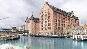 """Schlüsselübergabe für """"Krønasår"""": So sieht das neue Europa-Park-Hotel kurz vor Eröffnung aus!"""