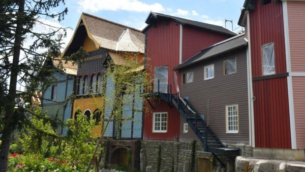 Europa-Park Skandinavisches Dorf Wiederaufbau 2019 Baustelle