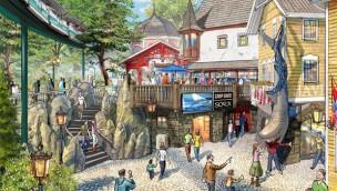 Europa-Park Skandinavisches Dorf 2019 Artwork