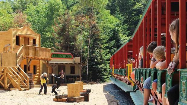 Fort Fun Abenteuerland Zugshow (Endstation Yukon Creek)