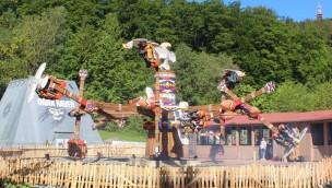 "Spektakuläre Überkopf-Attraktion ""Thunderbirds"" offiziell im FORT FUN Abenteuerland eröffnet"