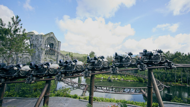 Universal's Islands of Adventure Hagrid's Magical Creatures Motorbike Adventure neu 2019 (Harry Potter)