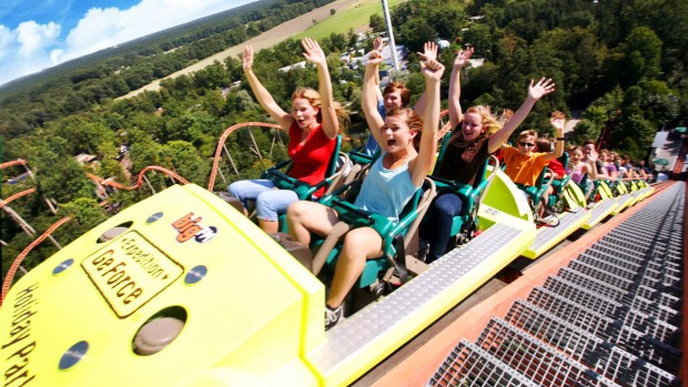 Holiday Park Achterbahn Expedition GeForce