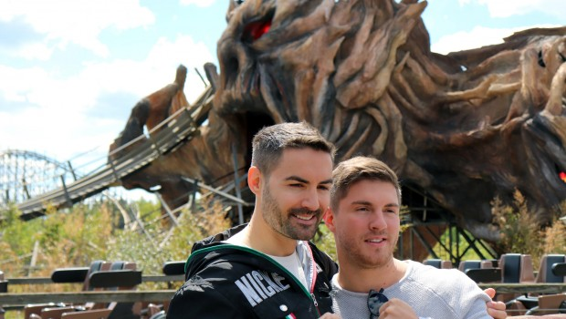 Joey Heindle Menderes Magci Heide Park Colossos